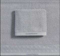 Набор полотенец 2 шт Cesare Paciotti Vienna серебро