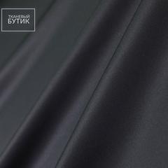 Жемчужно-черный атласный шелк
