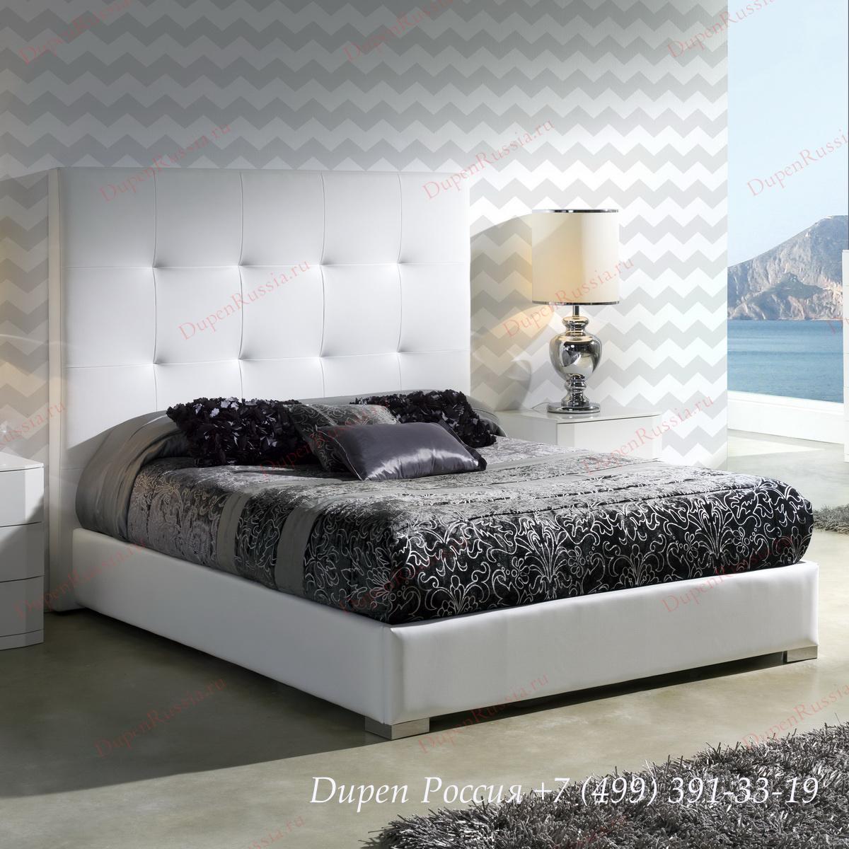 Кровать Dupen (Дюпен) 638 PATRICIA WHITE
