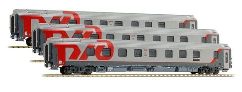 L.S. Models 48037 Набор пассажирских вагонов Москва-Берлин, НО