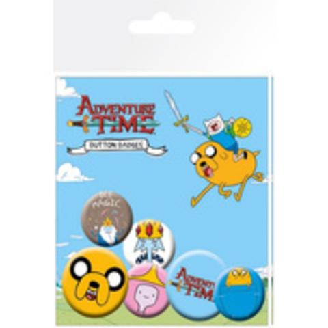 Набор значков Adventure Time. Jake