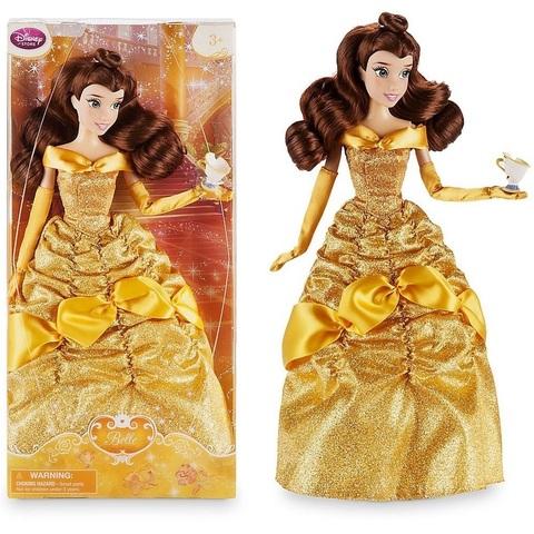 Дисней Красавица и Чудовище Белль кукла 30 см с Чипом