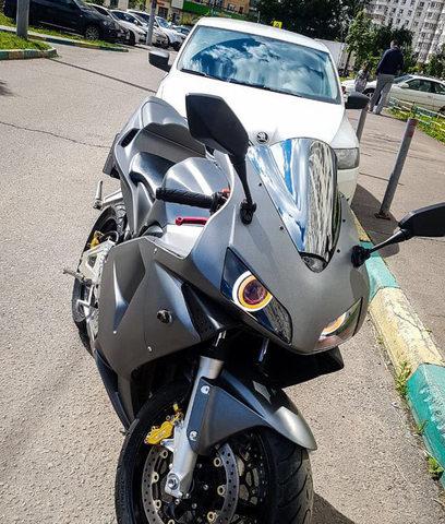 Ветровое стекло для Honda CBR 600 RR 03-04 зеркальное