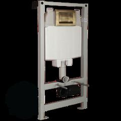 Система инсталляции для подвесного унитаза Migliore Better (крепление стена-пол, без кнопки) H1150xL500xP120/170 mm