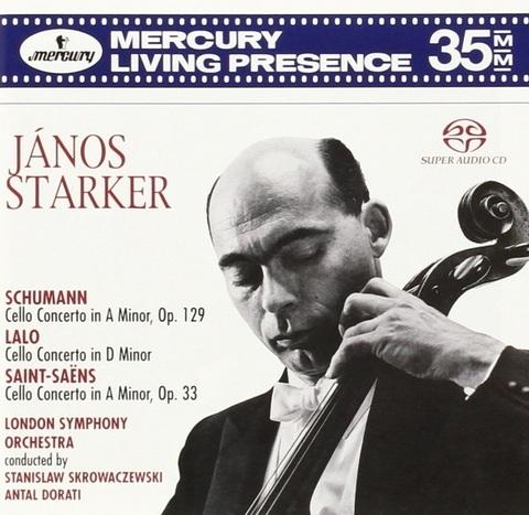Janos Starker, London Symphony Orchestra, Antal Dorati, Stanislaw Skrowaczewski / Schumann, Lalo, Saint-Saens (SACD)