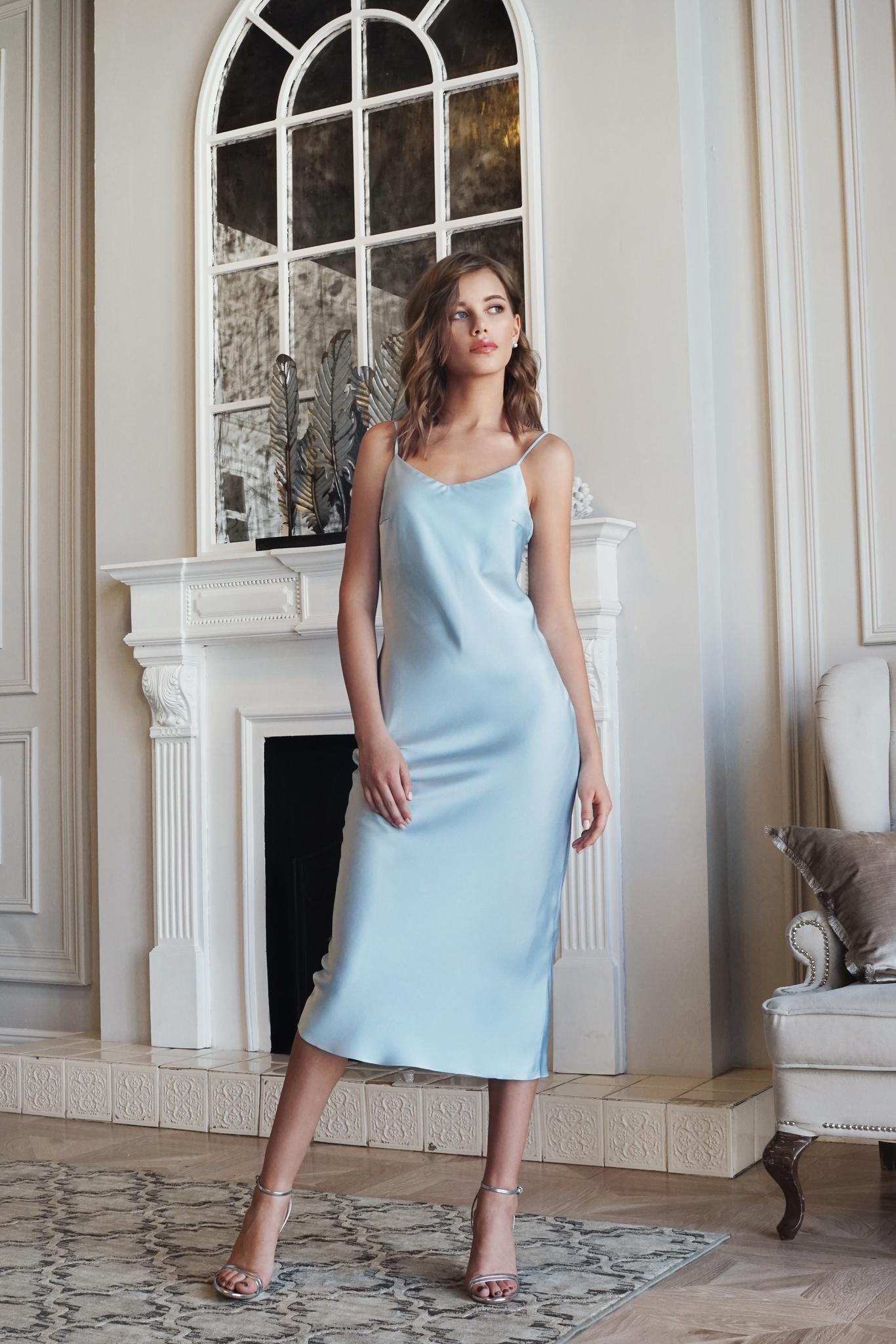 Платье Blue Dress