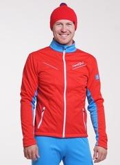 Детская утеплённая лыжная куртка Nordski Jr.National Red