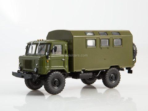 GAZ-66 K-66 Army van khaki 1:43 Legendary trucks USSR #3