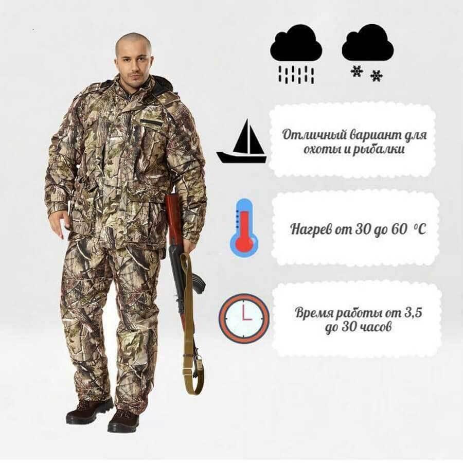 d870b294353a Зимний костюм с подогревом