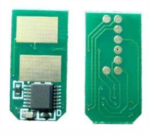 Чип для черного тонер-картриджа OKI C310, C330, C510, C530 Black chip. Ресурс 3500 страниц