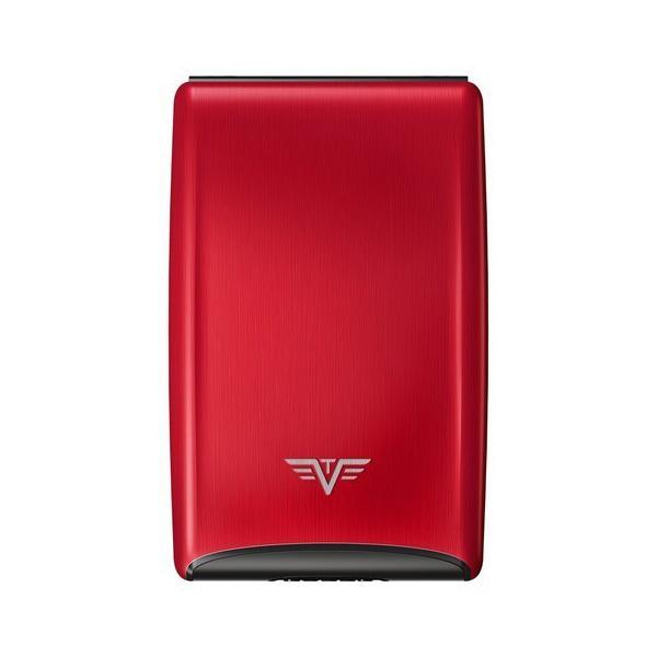 Визитница c защитой Tru Virtu RAZOR, цвет красный , 104*68*20 мм