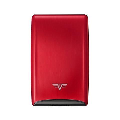 Визитница c защитой Tru Virtu Razor, красный , 104x68x20 мм