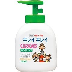 Жидкое мыло, Lion, KireiKirei, антибактериальное, апельсин, с маслом розмарина, 250 мл