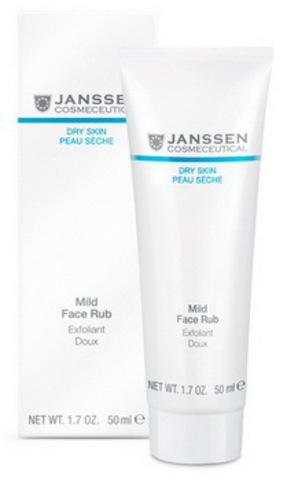 Мягкий скраб для лица с гранулами жожоба Janssen Mild Face Rub,50 мл.