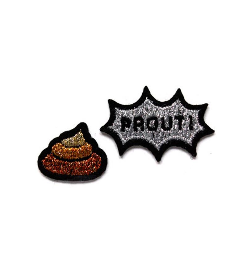Набор патчей-заплаток Caca Prout от Macon&Lesquoy