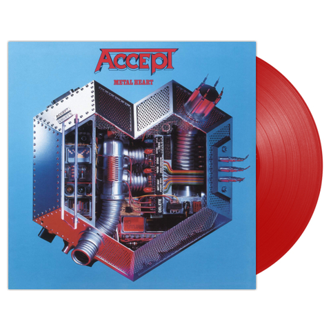 Accept / Metal Heart (Coloured Vinyl)(LP)