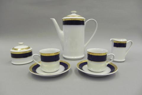 Сервиз кофейный мокко 15 предметов Сабина Leander