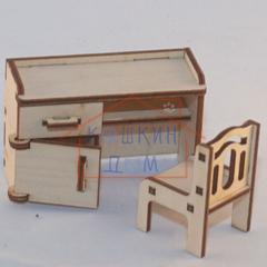 Сборная игрушечная мебель из фанеры