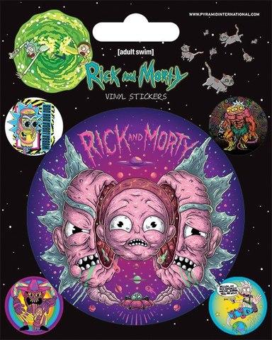 Набор стикеров Rick and Morty