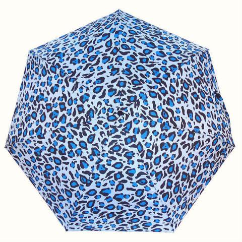 Голубой мини зонтик