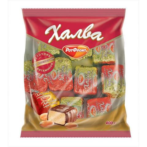 Конфеты Халва в шоколаде 400 г