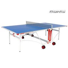Теннисный стол OUTDOOR ROLLER DE LUXE синий