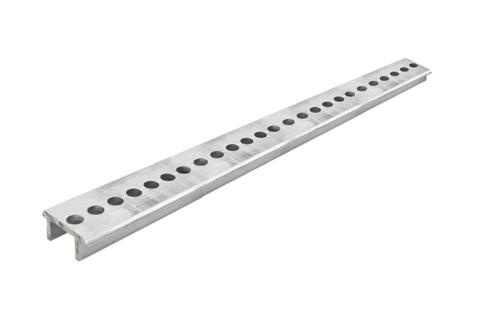 Профиль алюминиевый для установки шинных держателей НШД 2м TDM