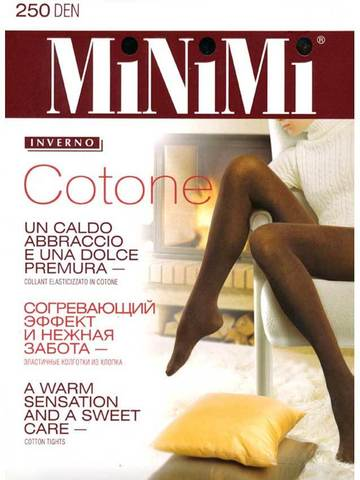 Колготки Cotone 250 Minimi