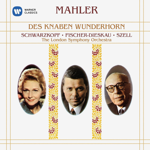 Elisabeth Schwarzkopf, Dietrich Fischer-Dieskau, London Symphony Orchestra, George Szell / Mahler: Des Knaben Wunderhorn (CD)