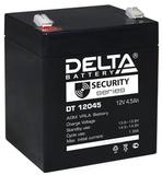 Аккумулятор Delta DT 12045 ( 12V 4,5Ah / 12В 4,5Ач ) - фотография