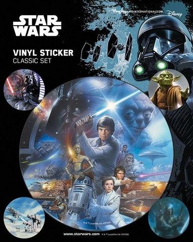 Набор стикеров Star Wars