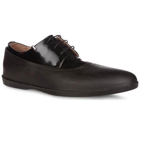 Галоши закрытые коричневые Rain-Shoes