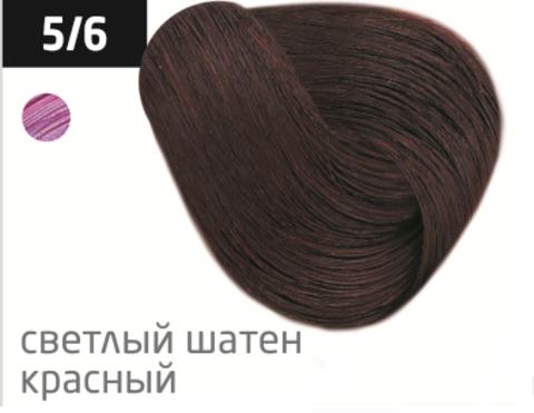 OLLIN performance 5/6 светлый шатен красный 60мл перманентная крем-краска для волос
