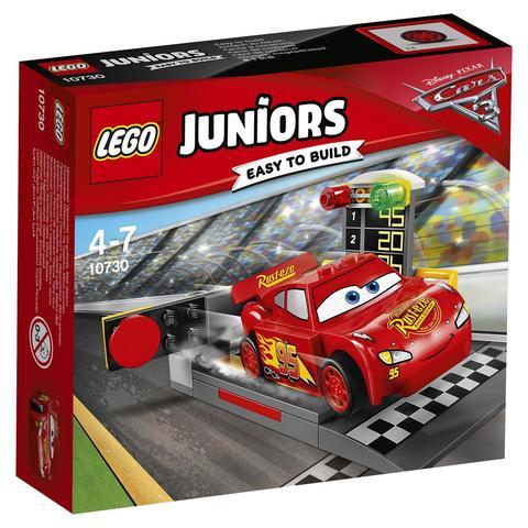 LEGO Juniors: Устройство для запуска Молнии МакКуина 10730 — Lightning McQueen Speed Launcher — Лего Джуниорс Подростки
