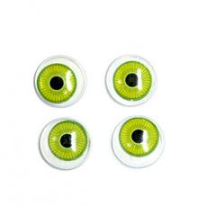 Глазки бегающие радужные, 1,8 см, 4 шт.