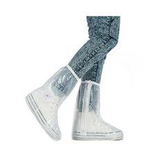 Защитные сапоги-чехлы (дождевики) для обуви от дождя и грязи