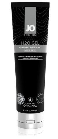 Лубрикант-гель для мужчин JO H2O GEL ORIGINAL - 120 мл.