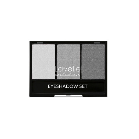 Лавелль тени ES-27 тройные тон 04 серый