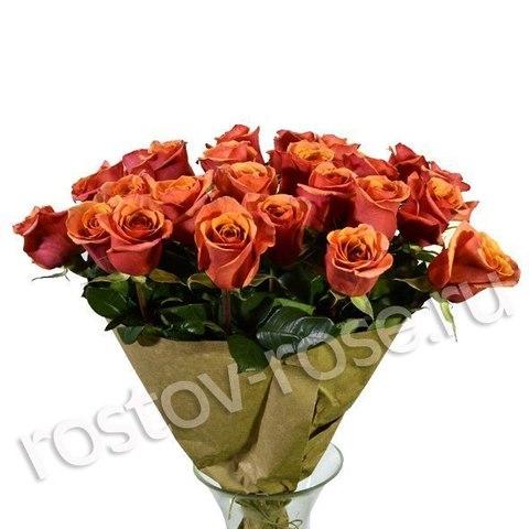 Букет 51 коралловая роза (Эквадор)