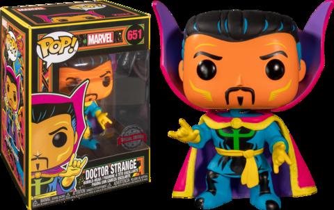 Doctor Strange Marvel: Black Light Special Edition Funko Pop! || Доктор Стрэндж