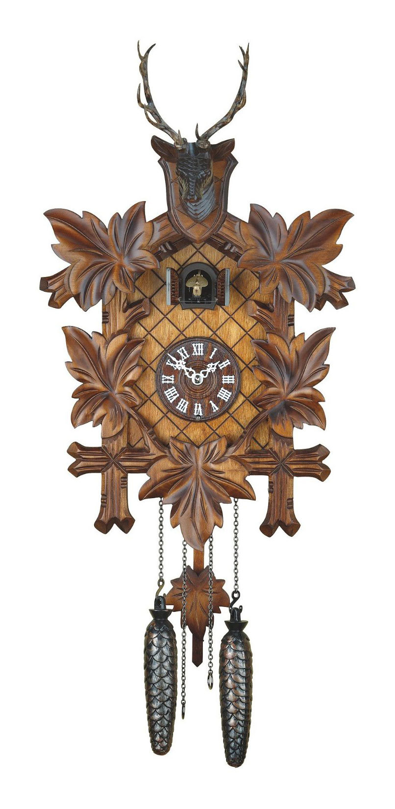 Часы настенные Часы настенные с кукушкой Trenkle 355 Q chasy-nastennye-s-kukushkoy-trenkle-355-q-germaniya.jpg