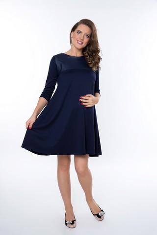 Платье 09013 синий