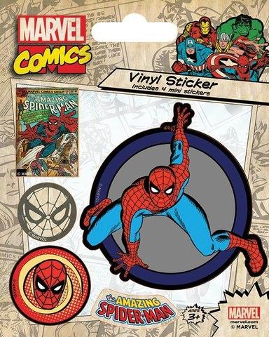 Набор стикеров Spider-Man