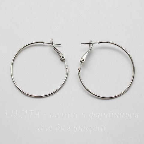 Швензы - кольца, 35 мм (цвет - платина)