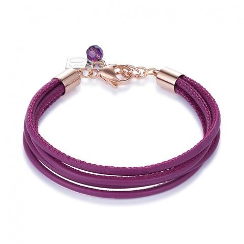 Браслет Coeur de Lion 0219/30-0421 цвет фиолетовый