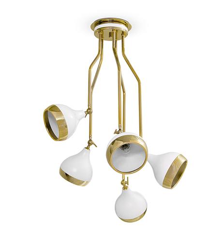 replica HANNA chandelier  by Delightfull ( white )