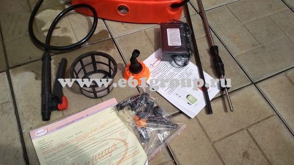 Опрыскиватель электрический ранцевый Комфорт (Умница) ОЭМР-16 с регулятором мощности обновленный дизайн