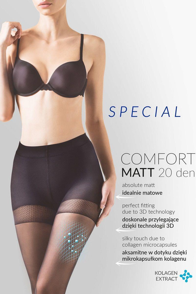 Чулки и колготки: Утягивающие колготки Comfort Matt 20 den