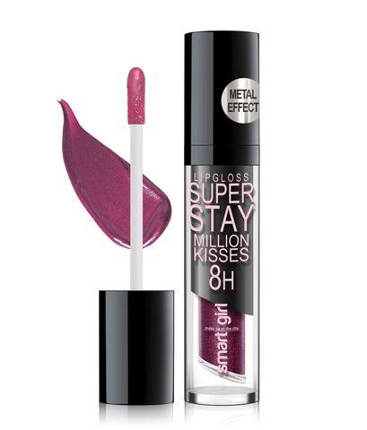 Супер стойкий блеск для губ Smart girl Million kisses тон 215