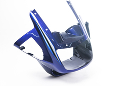 Передний обтекатель для Yamaha YBR125 04-09 Синий